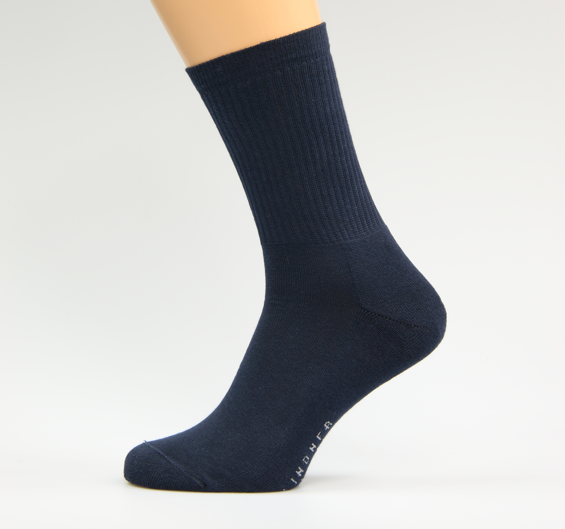 Blaue-Sportsocken