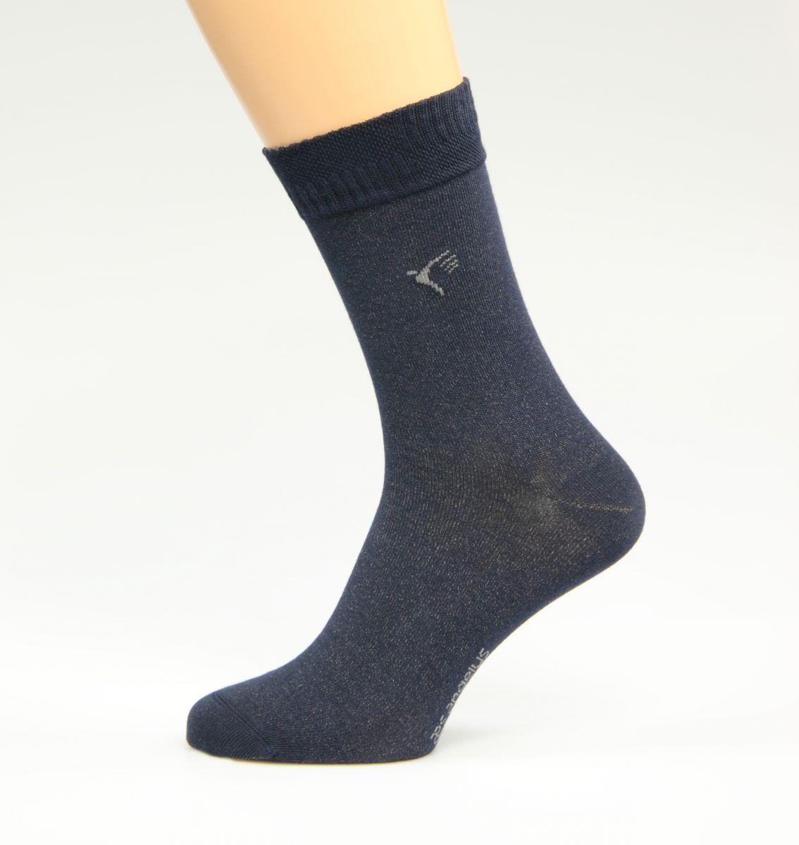 Silbersocken Dunkelblau ( Diabetiker Socken )