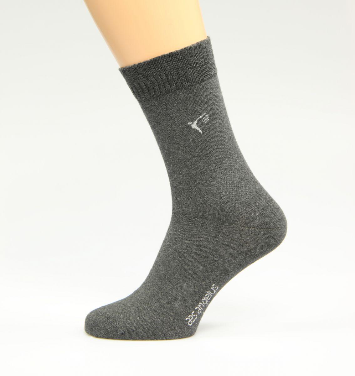 Silbersocken Dunkelgrau ( Diabetiker Socken )