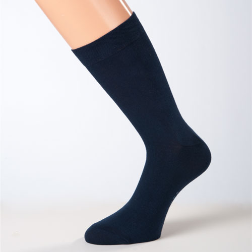 business-socken damensocken herrensocken dunkelblau baumwollsocken