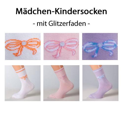 kindersocken mädchen baumwolle glitzer weiß rosa lila
