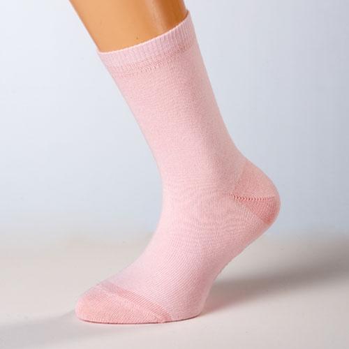 kindersocken kinderstrümpfe rosa einfarbig
