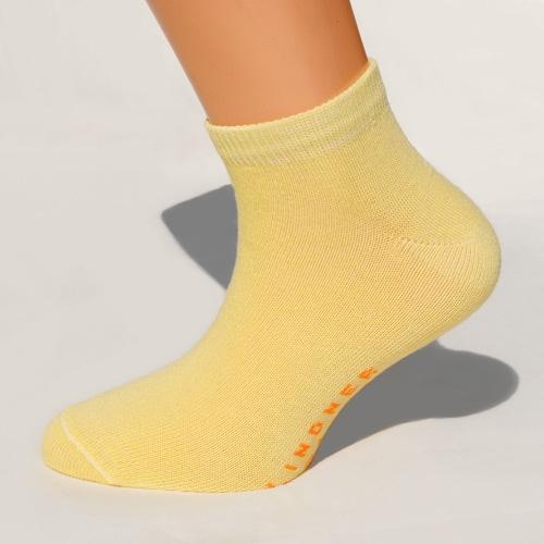 gelbe sneaker-socken