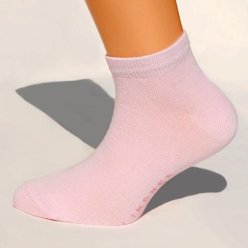 rosa sneaker-socken