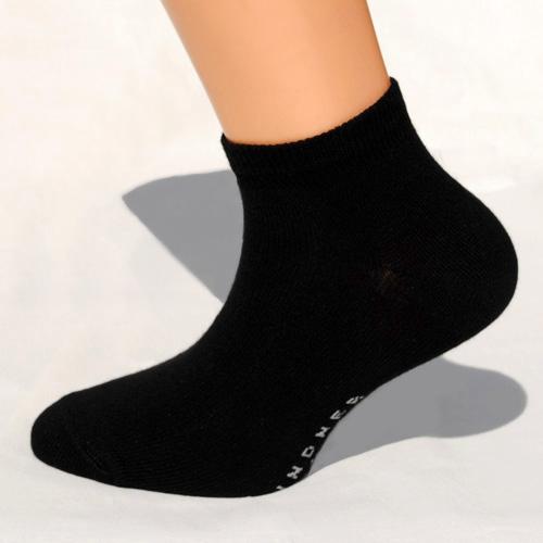 schwarze sneaker-socken