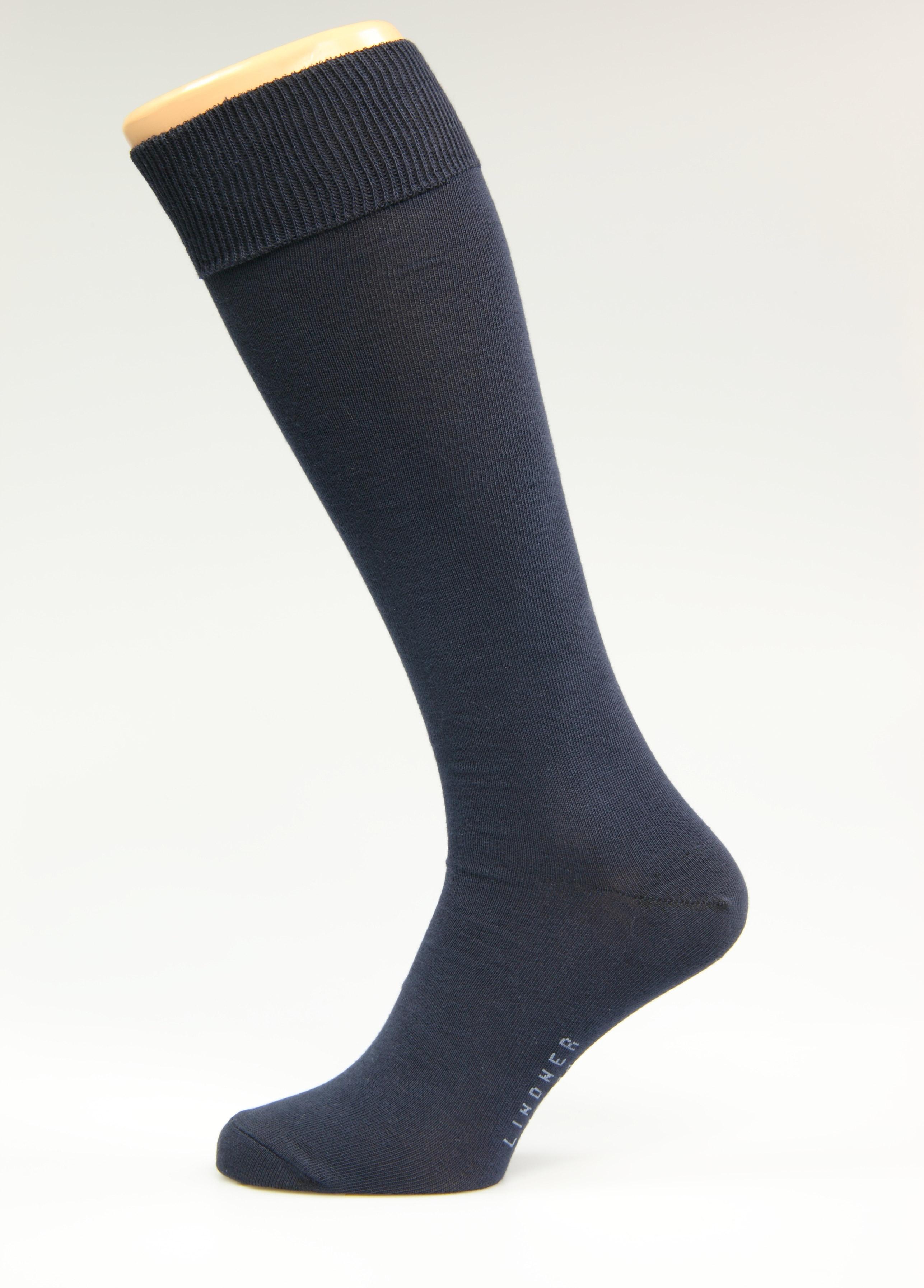 dunkelblaue-Kniestr-mpfe-Gr-sse-36-38