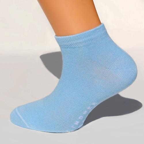 703a3df1fb8b Sneaker-Socken hellblau Größe 42-44   Socken vom Hersteller Onlineshop
