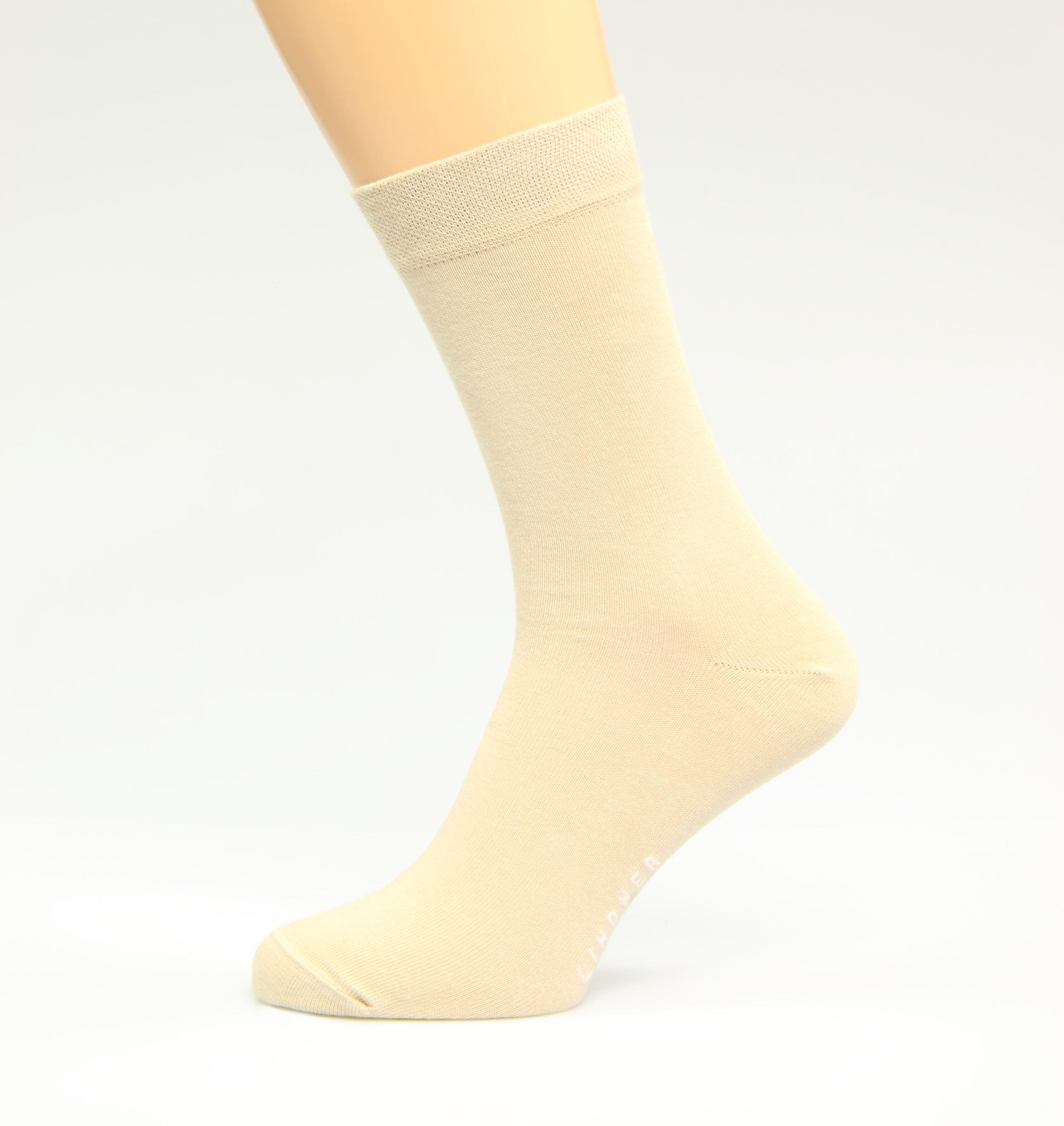 Business-Herrensocken-beige