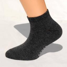 Sneaker-Socken dunkelgrau Größe 39, 40, 41