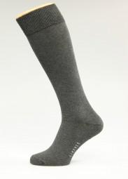 graue Kniestrümpfe Größe 39-41