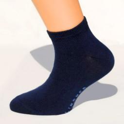 Sneaker-Socken dunkelblau Größe 23, 24, 25, 26