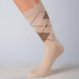 hellbraune hochwertige business-Socken baumwolle